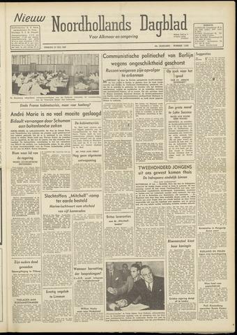 Nieuw Noordhollandsch Dagblad : voor Alkmaar en omgeving 1948-07-27