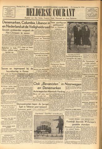 Heldersche Courant 1952-10-27