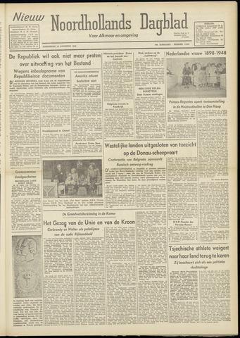 Nieuw Noordhollandsch Dagblad : voor Alkmaar en omgeving 1948-08-19