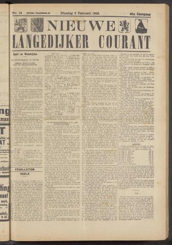 Nieuwe Langedijker Courant 1926-02-02