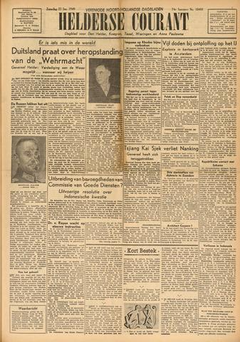Heldersche Courant 1949-01-22