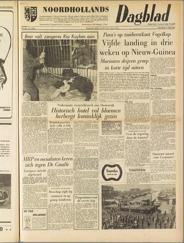 Noordhollands Dagblad : dagblad voor Alkmaar en omgeving 1962-05-21