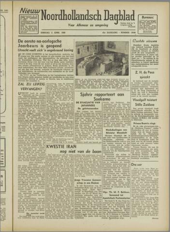 Nieuw Noordhollandsch Dagblad : voor Alkmaar en omgeving 1946-04-02
