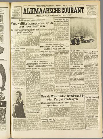 Alkmaarsche Courant 1955-03-19