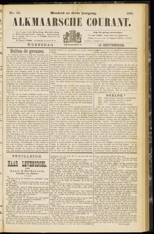 Alkmaarsche Courant 1901-09-18