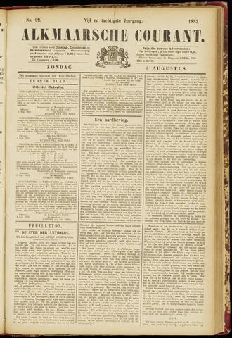 Alkmaarsche Courant 1883-08-05