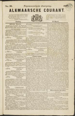 Alkmaarsche Courant 1867-03-10