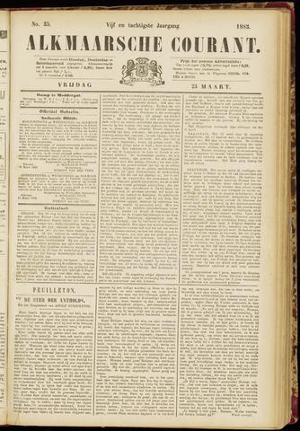 Alkmaarsche Courant 1883-03-23