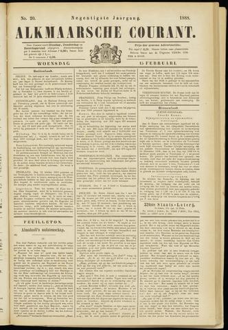 Alkmaarsche Courant 1888-02-15