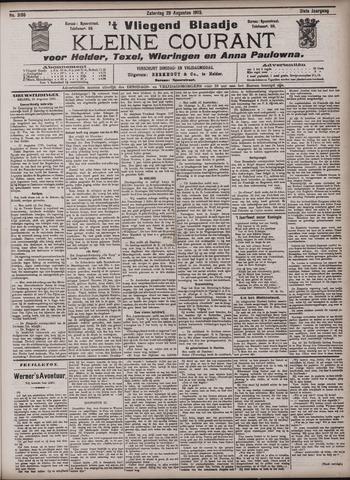Vliegend blaadje : nieuws- en advertentiebode voor Den Helder 1903-08-29