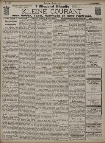 Vliegend blaadje : nieuws- en advertentiebode voor Den Helder 1909-10-02