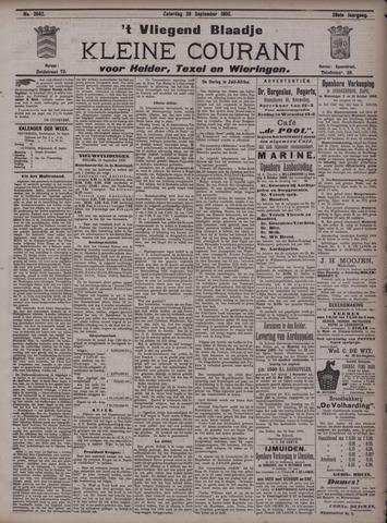 Vliegend blaadje : nieuws- en advertentiebode voor Den Helder 1900-09-29