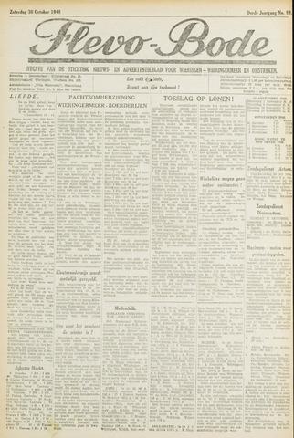 Flevo-bode: nieuwsblad voor Wieringen-Wieringermeer 1948-10-30