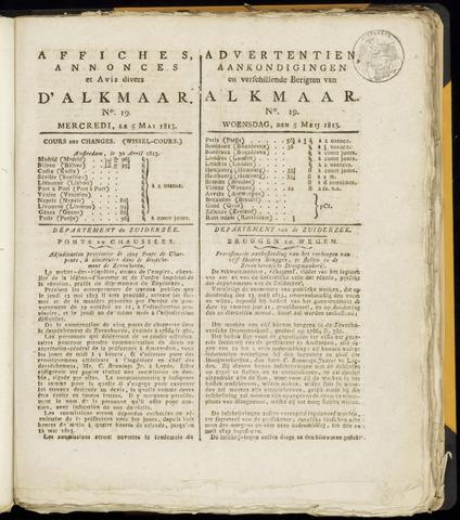 Alkmaarsche Courant 1813-05-05