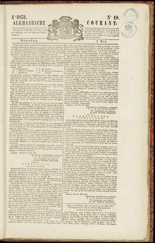 Alkmaarsche Courant 1851-05-05