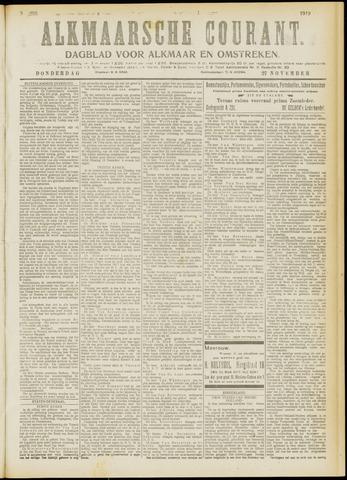 Alkmaarsche Courant 1919-11-27