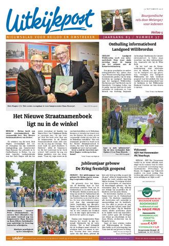 Uitkijkpost : nieuwsblad voor Heiloo e.o. 2017-09-13