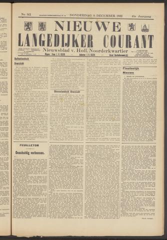 Nieuwe Langedijker Courant 1932-12-08