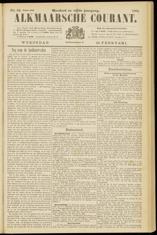 Alkmaarsche Courant 1903-02-25