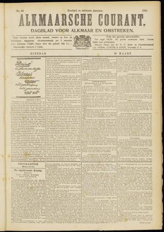 Alkmaarsche Courant 1914-03-10