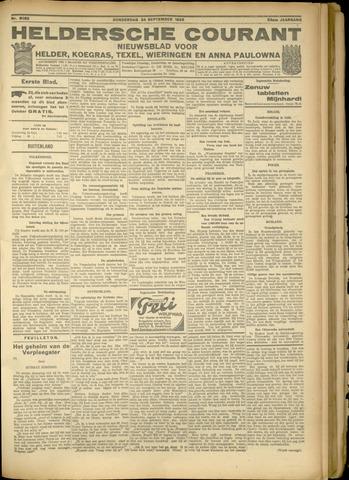 Heldersche Courant 1925-09-24