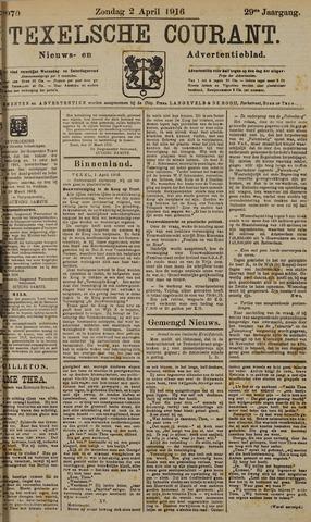 Texelsche Courant 1916-04-02