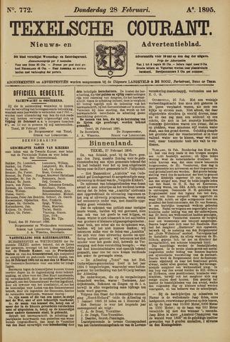 Texelsche Courant 1895-02-28