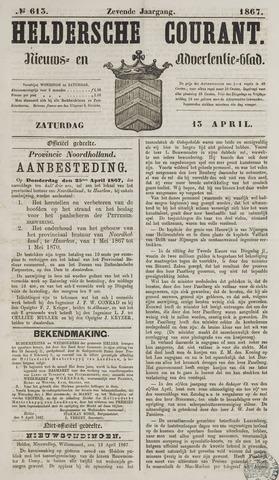 Heldersche Courant 1867-04-13