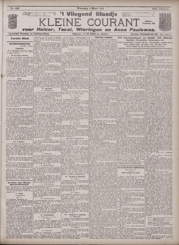 Vliegend blaadje : nieuws- en advertentiebode voor Den Helder 1913-03-05