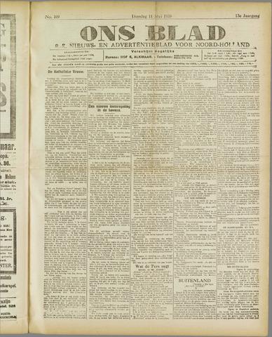 Ons Blad : katholiek nieuwsblad voor N-H 1920-05-11