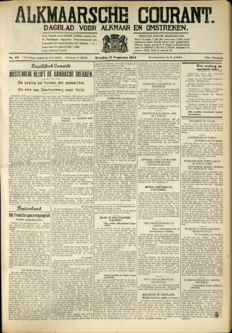 Alkmaarsche Courant 1934-08-14