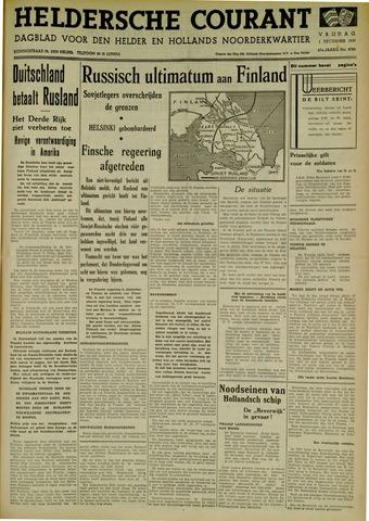 Heldersche Courant 1939-12-01