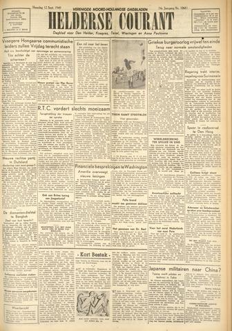 Heldersche Courant 1949-09-12