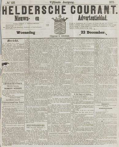 Heldersche Courant 1875-12-22