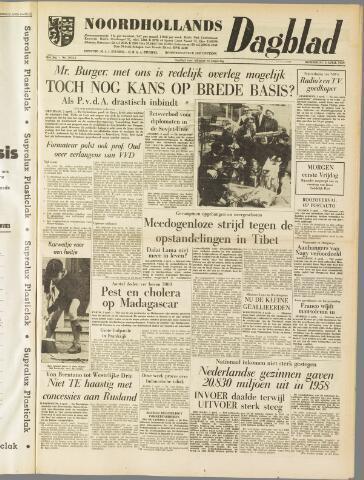 Noordhollands Dagblad : dagblad voor Alkmaar en omgeving 1959-04-02
