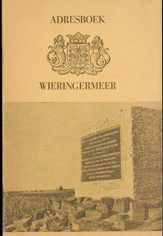 Adresboek van Wieringermeer 1970-01-01