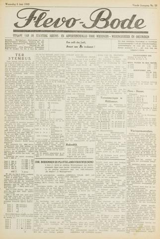 Flevo-bode: nieuwsblad voor Wieringen-Wieringermeer 1949-06-08