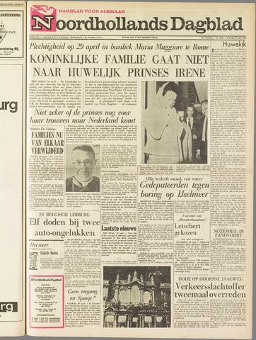 Noordhollands Dagblad : dagblad voor Alkmaar en omgeving 1964-04-20