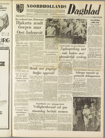 Noordhollands Dagblad : dagblad voor Alkmaar en omgeving 1960-05-20