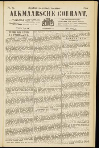 Alkmaarsche Courant 1905-07-28