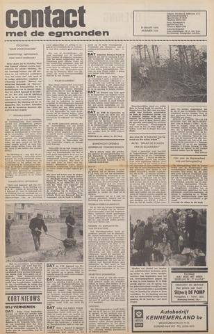 Contact met de Egmonden 1976-03-31