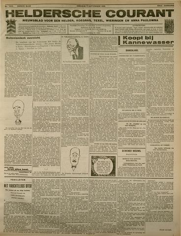 Heldersche Courant 1931-09-08