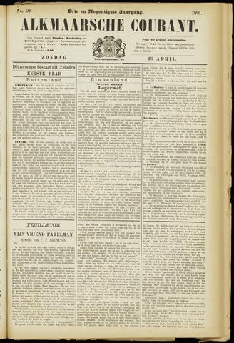 Alkmaarsche Courant 1891-04-26
