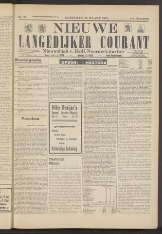 Nieuwe Langedijker Courant 1932-03-26