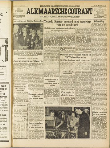 Alkmaarsche Courant 1955-07-06