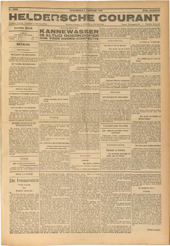 Heldersche Courant 1929-02-07
