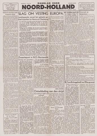 Dagblad Noord-Holland, Schager editie 1944-06-07