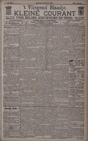 Vliegend blaadje : nieuws- en advertentiebode voor Den Helder 1894-02-28