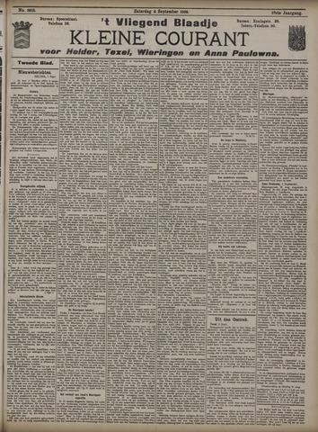 Vliegend blaadje : nieuws- en advertentiebode voor Den Helder 1909-09-04