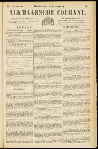 Alkmaarsche Courant 1902-11-23